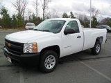 2012 Summit White Chevrolet Silverado 1500 Work Truck Regular Cab #57034454