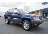 2002 Patriot Blue Pearlcoat Jeep Grand Cherokee Laredo #57034160
