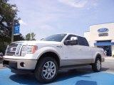 2011 White Platinum Metallic Tri-Coat Ford F150 King Ranch SuperCrew 4x4 #57034128