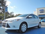 2012 Oxford White Ford Focus SE 5-Door #57034118