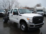 2012 Ford F350 Super Duty XL SuperCab 4x4 Chassis Data, Info and Specs
