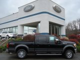 2012 Black Ford F250 Super Duty Lariat Crew Cab 4x4 #57094763