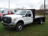 2011 Ford F350 Super Duty XL Regular Cab 4x4 Chassis Stake Truck Data, Info and Specs