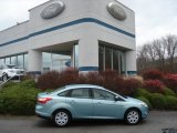 2012 Frosted Glass Metallic Ford Focus SE Sedan #57094758