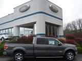 2011 Sterling Grey Metallic Ford F150 Lariat SuperCrew 4x4 #57094756