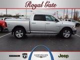 2010 Bright Silver Metallic Dodge Ram 1500 Big Horn Crew Cab 4x4 #57094741