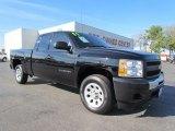 2011 Black Chevrolet Silverado 1500 Extended Cab #57095235