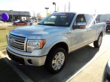 2010 Ingot Silver Metallic Ford F150 Platinum SuperCrew 4x4 #57095157