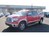 2011 Radiant Red Toyota Tundra Limited CrewMax 4x4 #57095145