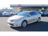 2012 Sandy Beach Metallic Toyota Camry XLE #57095139