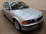 2001 Titanium Silver Metallic BMW 3 Series 325xi Sedan #57094634