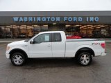 2010 Oxford White Ford F150 FX4 SuperCab 4x4 #57095123