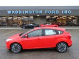 2012 Race Red Ford Focus SE Sport 5-Door #57095112