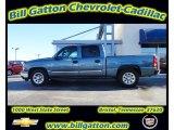 2007 Blue Granite Metallic Chevrolet Silverado 1500 Classic LS Crew Cab #57095626