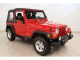 2006 Flame Red Jeep Wrangler Sport 4x4 #57095615