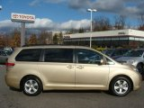 2011 Sandy Beach Metallic Toyota Sienna LE #57095018