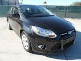 2012 Black Ford Focus SE Sedan #57095004