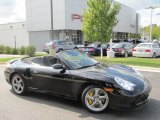 2005 Black Porsche 911 Turbo S Cabriolet #57094973