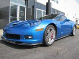 2008 Jetstream Blue Metallic Chevrolet Corvette Z06 #57094962