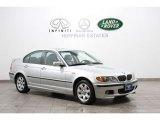 2004 Titanium Silver Metallic BMW 3 Series 325xi Sedan #57095476