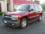 2005 Sport Red Metallic Chevrolet Tahoe LS 4x4 #57094924