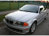 2001 Titanium Silver Metallic BMW 3 Series 325i Convertible #57094912