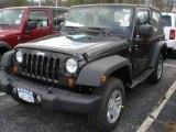 2012 Black Jeep Wrangler Sport 4x4 #57094441