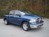 2009 Deep Water Blue Pearl Dodge Ram 1500 Lone Star Edition Crew Cab #57095384