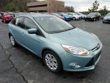 2012 Frosted Glass Metallic Ford Focus SE Sedan #57094855