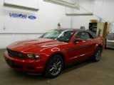 2011 Red Candy Metallic Ford Mustang V6 Premium Convertible #57095346