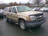 2005 Sandstone Metallic Chevrolet Silverado 1500 LT Crew Cab 4x4 #57094336