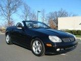 2001 Black Mercedes-Benz SLK 320 Roadster #57217656
