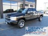 2007 Black Chevrolet Silverado 1500 LT Extended Cab 4x4 #57217368