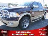 2012 Deep Cherry Red Crystal Pearl Dodge Ram 1500 Laramie Longhorn Crew Cab #57217078