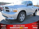 2012 Bright Silver Metallic Dodge Ram 1500 Express Regular Cab #57217071