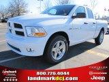 2012 Bright White Dodge Ram 1500 Express Quad Cab #57217068