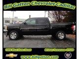 2012 Black Chevrolet Silverado 1500 LT Crew Cab #57217634