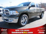 2012 Sagebrush Pearl Dodge Ram 1500 Big Horn Quad Cab #57217061