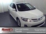 2011 Super White Toyota Corolla S #57217347