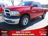 2012 Flame Red Dodge Ram 1500 ST Quad Cab #57217058