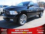 2012 Black Dodge Ram 1500 Sport Quad Cab #57217055