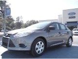 2012 Sterling Grey Metallic Ford Focus S Sedan #57217023