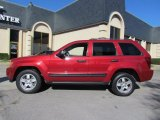 2006 Inferno Red Crystal Pearl Jeep Grand Cherokee Laredo #57217313