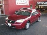 2007 Sport Red Metallic Chevrolet Malibu LS Sedan #57217205