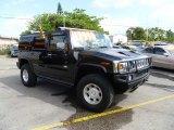 2003 Black Hummer H2 SUV #57217466