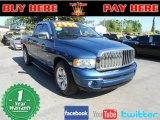 2004 Atlantic Blue Pearl Dodge Ram 1500 SLT Quad Cab #57217460