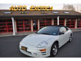 2003 Dover White Pearl Mitsubishi Eclipse Spyder GS #57217446