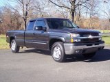2004 Dark Gray Metallic Chevrolet Silverado 1500 LS Extended Cab 4x4 #57217157