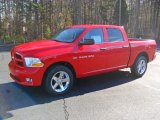 2012 Flame Red Dodge Ram 1500 Express Crew Cab 4x4 #57217417