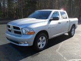 2012 Bright Silver Metallic Dodge Ram 1500 Express Crew Cab #57217415